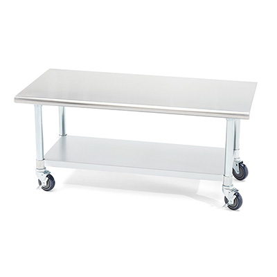 ICART Stainless Steel Rolling Work Stand