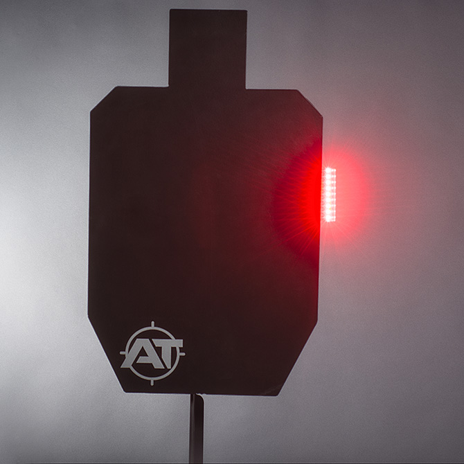 Steel Target Hit Indicator - Bright Light | T1000