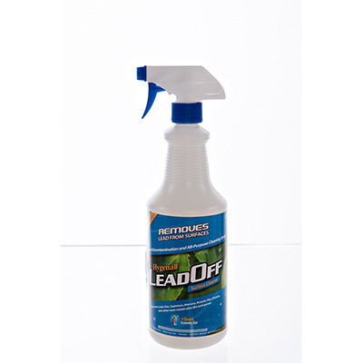 Hygenall LeadOff Wipe on, Wipe off, Non-Porous Surface Cleaner