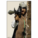 RPG Gunner Behind Wall Terrorist Photo Target
