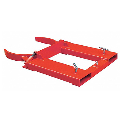Fork Mounted Drum Grabber, 1/2-Ton, 20-Gallon