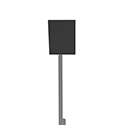 "8"" x 12"" Rectangle - Target Head (STD)"