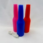 3 Pack Target Bottles - Blue, Pink, Red