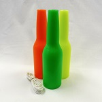 3 Pack Target Bottles - Green, Yellow, Orange