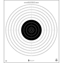 Official NRA International 50-Meter Slow Fire Pistol Target (B-17)