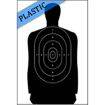 Corrugated Plastic B-27S Qualification Target