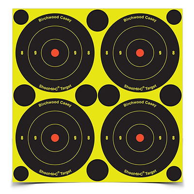 "Shoot-N-C 3"" Bull's-Eye, 240 Targets - 600 Pasters"