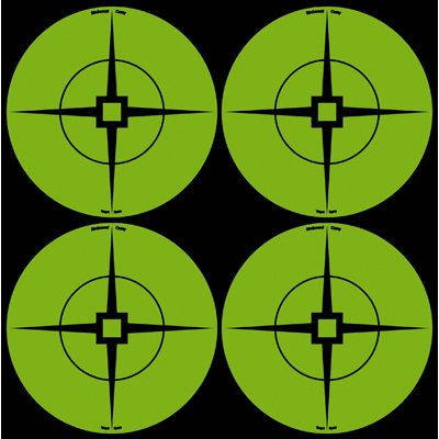 "3"" Green Self-Adhesive Target Spots (10 Sheets)"