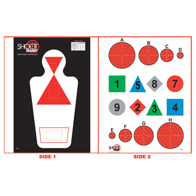 Shoot Smart Black Widow Target