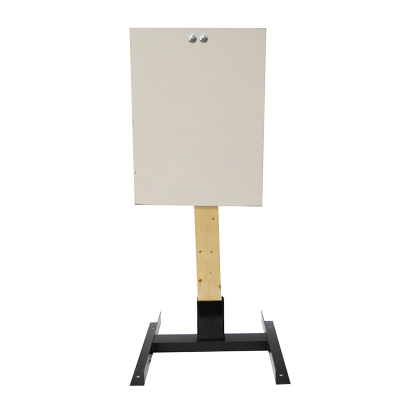 "LET 18"" x 24"" Rectangle Wood Stand Static Steel Target"