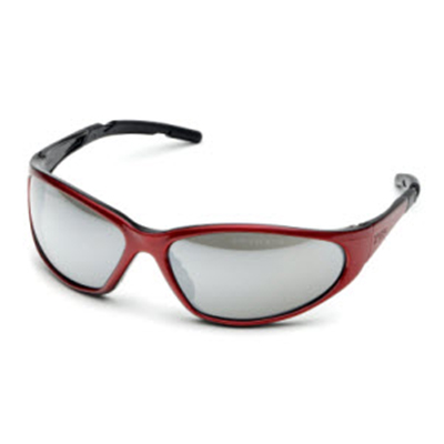 Elvex XTS Shooting Glasses (Silver Mirror)