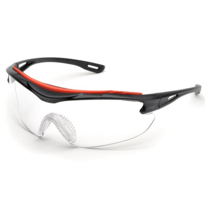 Elvex Brow-Specs Shooting Glasses (Clear - Anti-Fog)