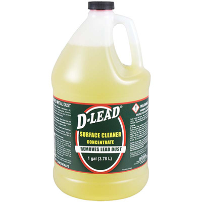D-Lead Surface Cleaner Concentrate (1 gal. Bottle, case of 4)