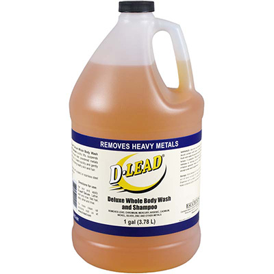 D-Lead Deluxe Body Wash and Shampoo (1 gal. bottle)