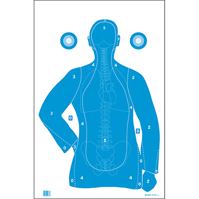 B-21E Qualification Target w/ Vital Anatomy