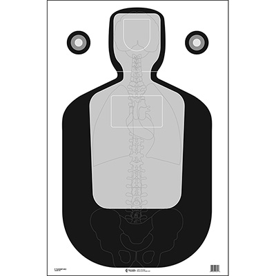 TQ-19 Qualification Target w/ Vital Anatomy