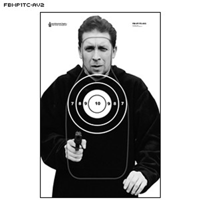 FBI Q Scoring Photo Target (Version A)