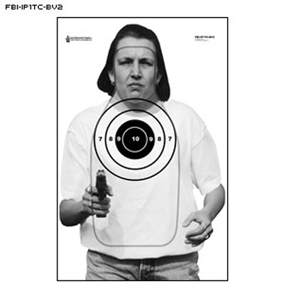 FBI Q Scoring Photo Target (Version B)