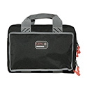 G Outdoors G.P.S. Quad Pistol Range Bag - Black