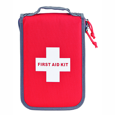 Medium First Aid Kit -with Pistol Storage (Red) - GPS BAGS