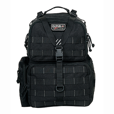 G Outdoors G.P.S. Tactical Range Backpack - Black