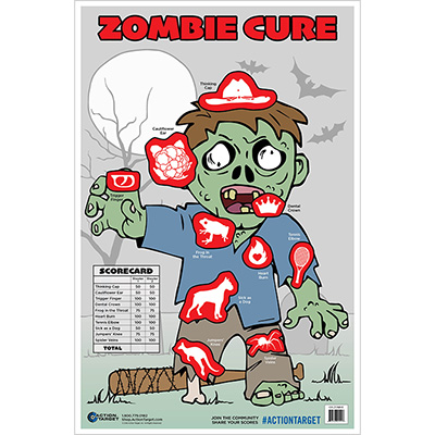 Zombie Cure Target - Male