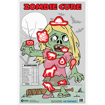 Zombie Cure Target - Female