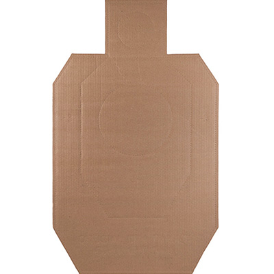 Official IDPA Cardboard Torso Target (100 Pack) SHIPS FREE.