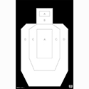 High Visibility IPSC/USPSA Paper Target