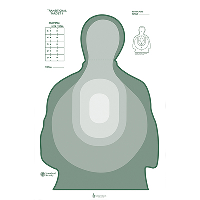 Transitional Cardboard Target (Green)