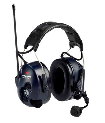 3M Peltor LiteCom Plus 2-Way Communications Electronic Ear Muffs