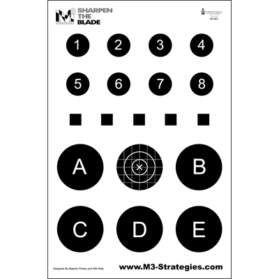 M3 Strategies Multi-Purpose Training Target (Version 1)