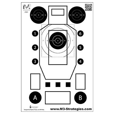 M3 Strategies Multi-Purpose Training Target (Version 3)