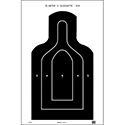 US Dept. of Defense M9 25-Meter E-Type Silhouette Target