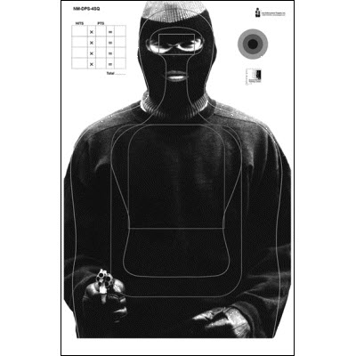 New Mexico Dept. of Public Safety Training Target