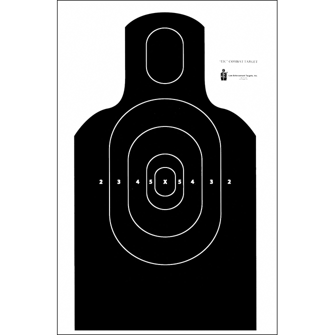 graphic about Printable Nra Pistol Targets referred to as Legislation Enforcement Objectives Phase Concentration : NRA EIC E