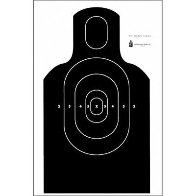 NRA EIC E-Silhouette Combat Target