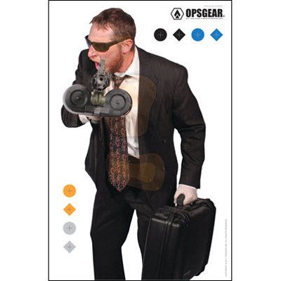OpsGear Real Threat Bank Robber Target