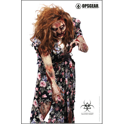 OpsGear Elite Zombie Hunter Target - Churchbie