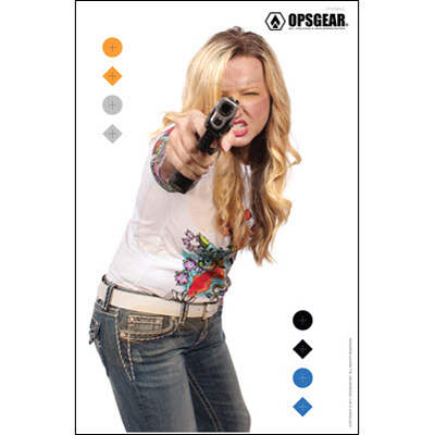 OpsGear Real Threat Female Target
