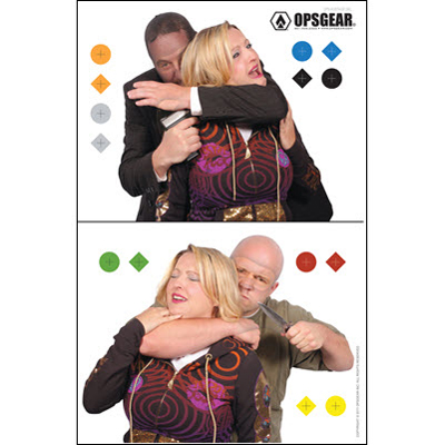 OpsGear Real Threat Double Hostage Target