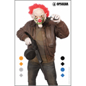 OpsGear Clown Target - Red Clown