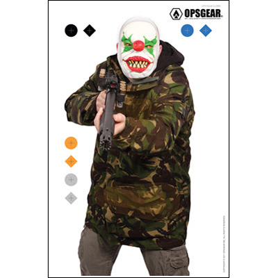 OpsGear Clown Target - Shotgun Clown