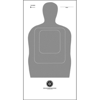Shelby Co. (TN) Sheriff's Office TQ-15 Target