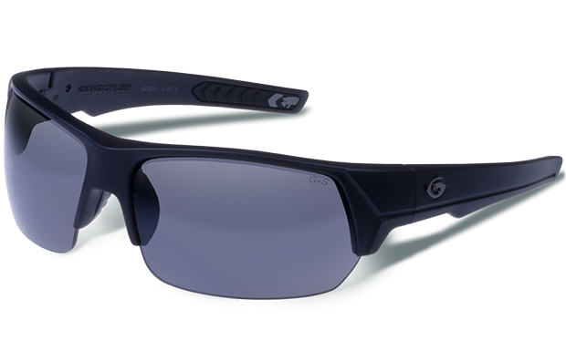 Recoil - Matte Black - Smoke Polarized - Gargoyles