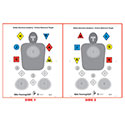 Safety Solutions Academy Two Sided Training Target #2