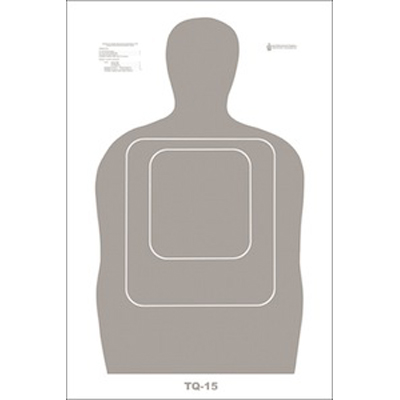US Customs & Border Protection TQ-15 Qualification Target