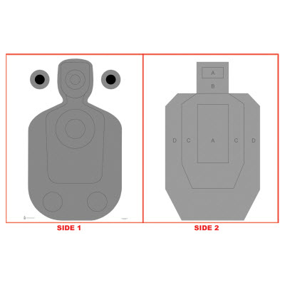 Phoenix (AZ) PD Modified TQ-21 Two-Sided Qualification Target
