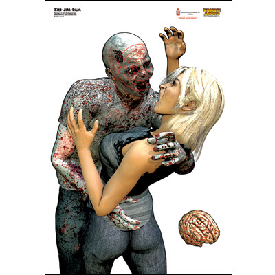 Zombie Assault Target - Jim and Pam