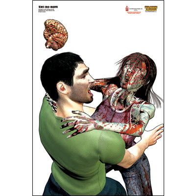 Zombie Assault Target - Bo and Hope